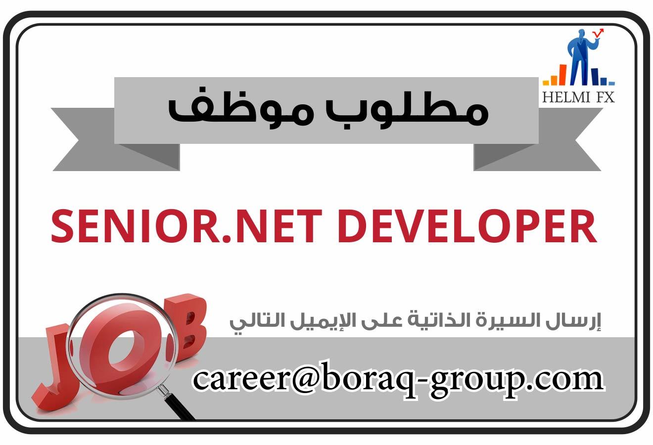 مطلوب .net developer لشركة في اسطنبول
