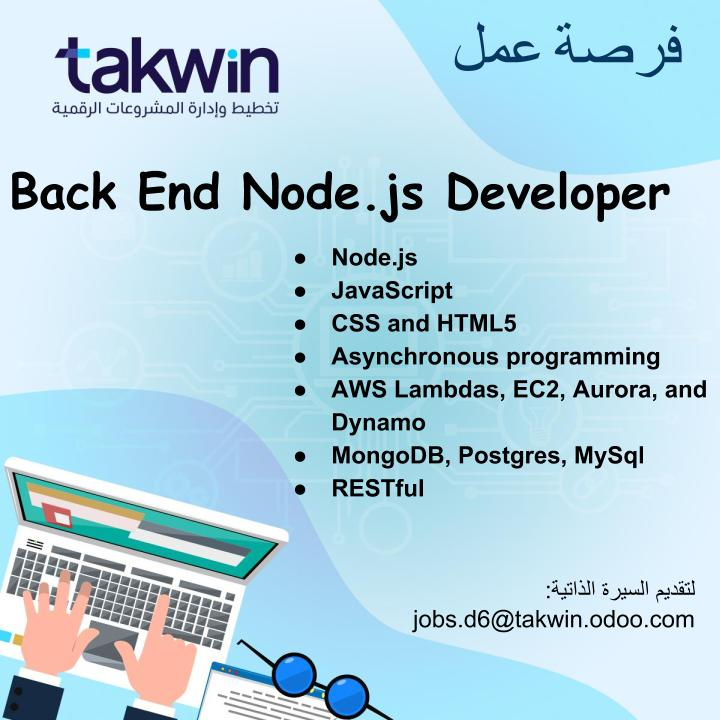 BackEnd NodeJS Developer