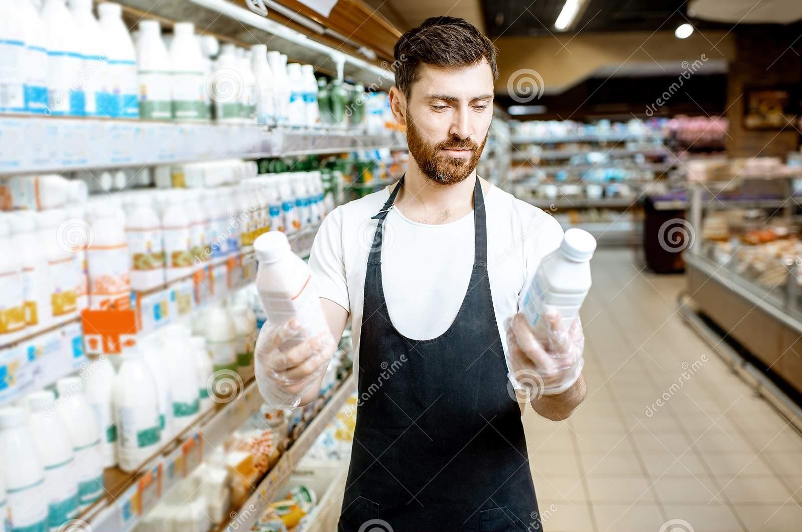 Dairy products Sales Executive تنفيذي مبيعات في سوبر ماركت