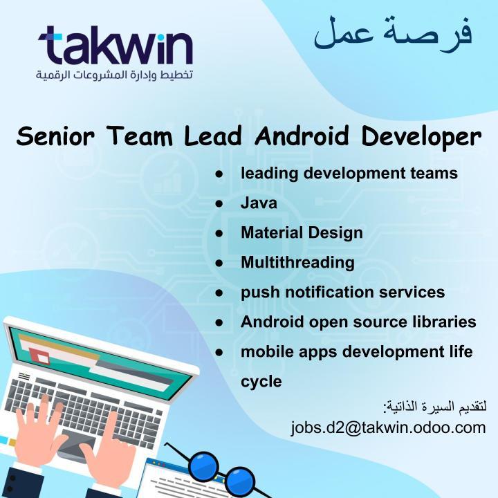 Senior Team Lead Android Developer